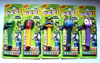 Pez European~~MGM Jerry E Spiked Hair Yellow Stem~~Loose~~Near Mint to Mint